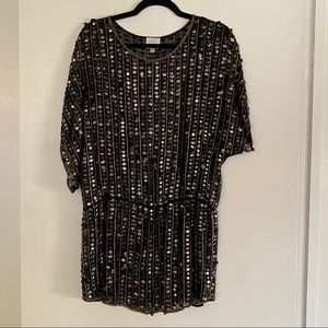Parker Sequin and Beaded Tunic